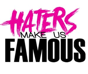 motivational quotes, quotes about haters, and haters quotes image