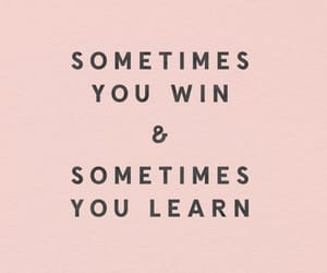 quotes, learn, and pink image