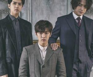 kpop, shin, and leader image