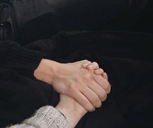 couple, crush, and romance image