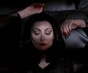 beauty, gif, and the addams family image