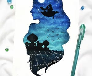 princess, aladdin, and disney image