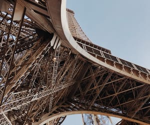architecture, buildings, and eiffel tower image