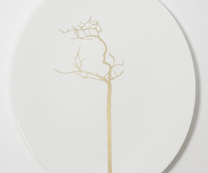 gold, plate, and porcelain image
