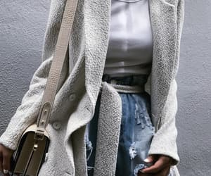 blogger, lovely style, and teddy bear coat image