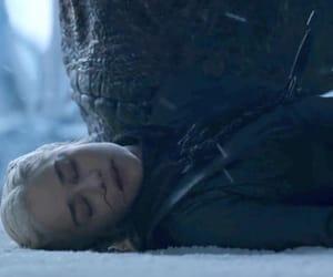 daenerys targaryen and drogon image
