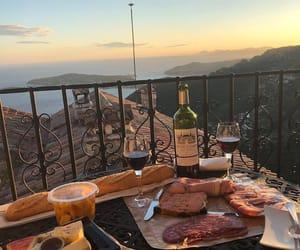food, indie, and wine image