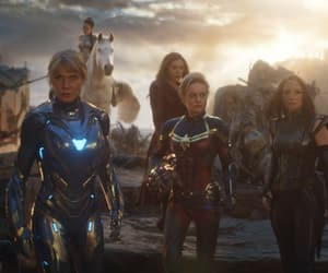 Avengers, valkyrie, and captain marvel image