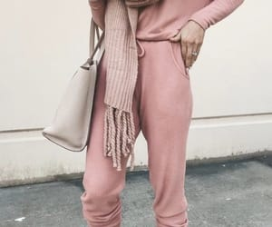 pink and street style image