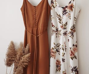 beautiful, clothing, and dress image