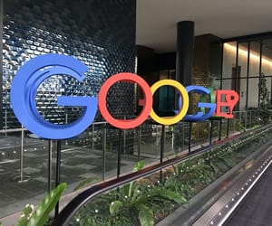google, office, and singapore image
