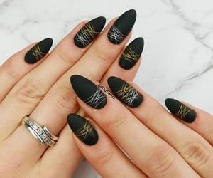 spider nail art image
