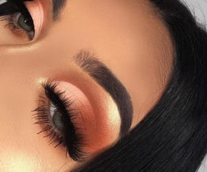 eyebrows, pretty, and eyes image