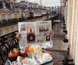breakfast, food, and paris image