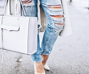 blue jeans, outfit, and style image