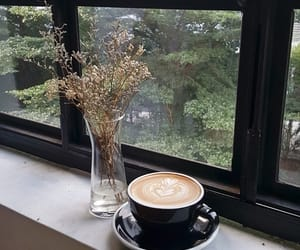 coffee, inspiration, and flower image