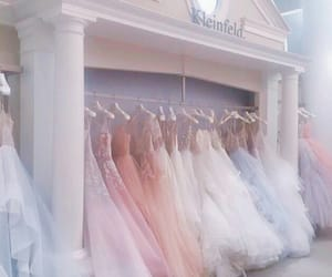 dress, aesthetic, and wedding image