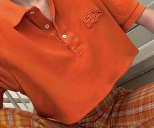 clothes, fashion, and orange image