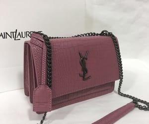 bag, fashion, and purple image