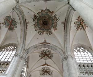 ceiling, church, and dutch image