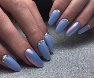 blue, chrome, and fashion image