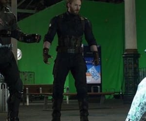 captain america, falcon, and steve rogers image