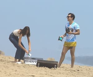 beach, los angeles, and Harry Styles image
