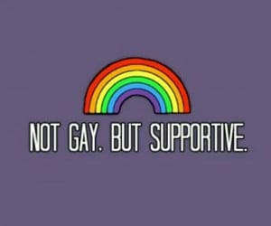 support, love is love, and lgbtq+ image