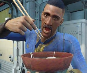 bowl, vault dweller, and chopsticks image