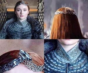 crown, got, and winter is coming image
