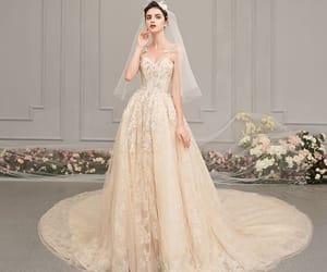 bridal, lace, and wedding dress 2019 image