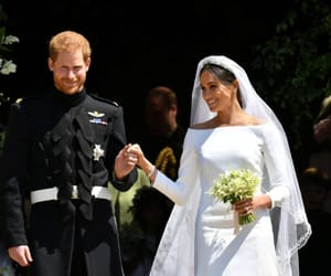 prince harry, the royal family, and meghan markle image