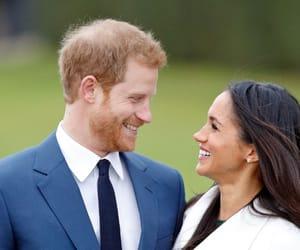 prince harry, royal family, and meghan markle image