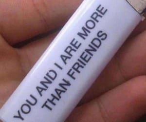 friends, lighter, and love image