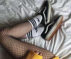 yellow, vans, and adidas image