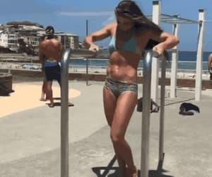 bikini, busty, and girl image