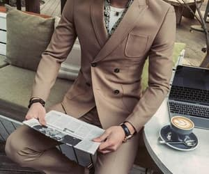fashion, suit, and style men image