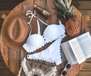 aesthetic, bikini, and book image