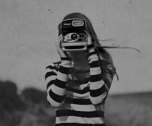 camera, lady, and photography image