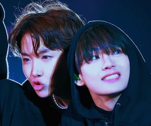 v, tae, and jhope image