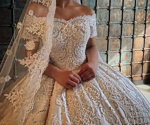 dress, girl, and vestido image