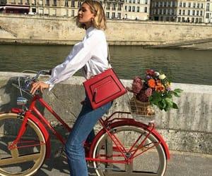 bike, travel, and aesthetic image