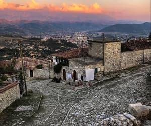 albania and berat image