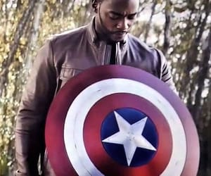 Avengers, falcon, and Marvel image
