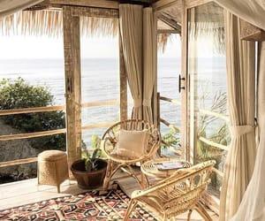 beach, happiness, and interior design image