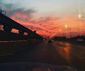 car, evening, and lanterns image