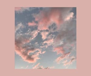 background, clouds, and pink image