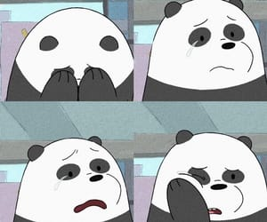 panda and sad image