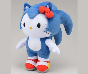 hello kitty and sonic image