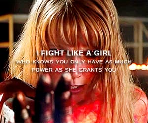 gif, fight like a girl, and pepper potts image